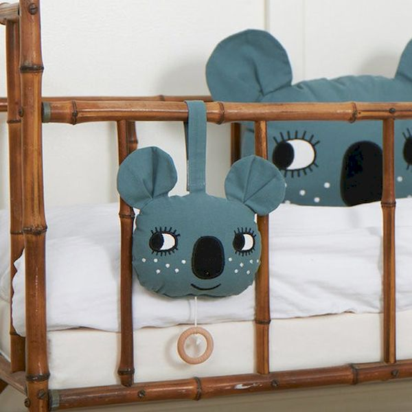 Mobile musical Koala - Roommate décoration chambre bébé jungle animaux