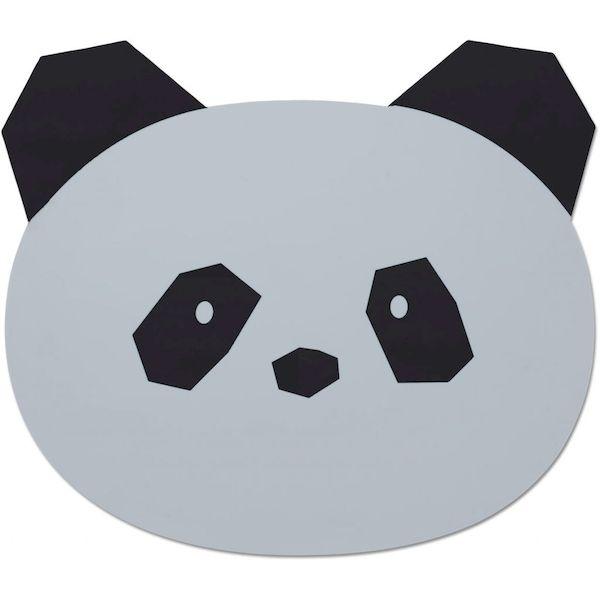 Set de table en silicone Panda Aura - Liewood repas tendance bébé