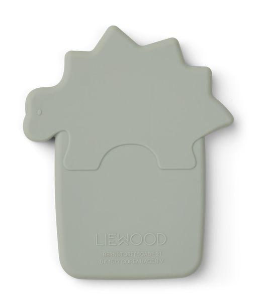jouet anneau de dentition en silicone liewood cadeau naissance bébé dino dinosaure