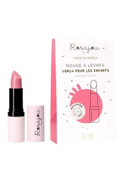 """Baume à lèvres """"ballerine"""" - Rosajou maquillage rouge à lèvre enfant rose pale"""