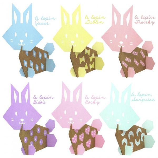 Kit loisir créatif - Mes Lapins - Pirouette Cacahouète activité créative paques