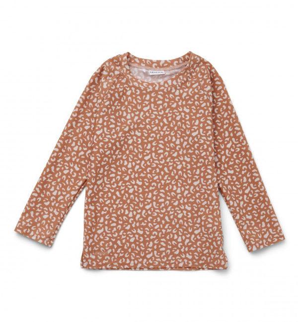Tee-shirt anti UV Noah - Leo tuscany rose - 3/9 Mois - Liewood