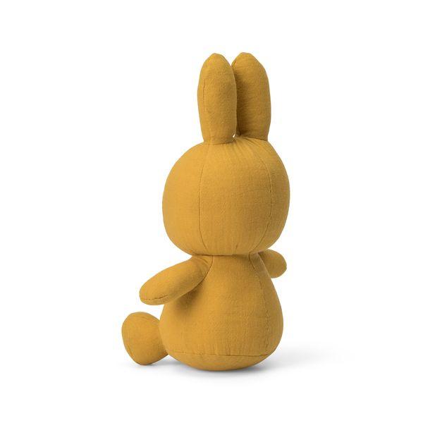 Lapin en mousseline moutarde 23 cm - Miffy