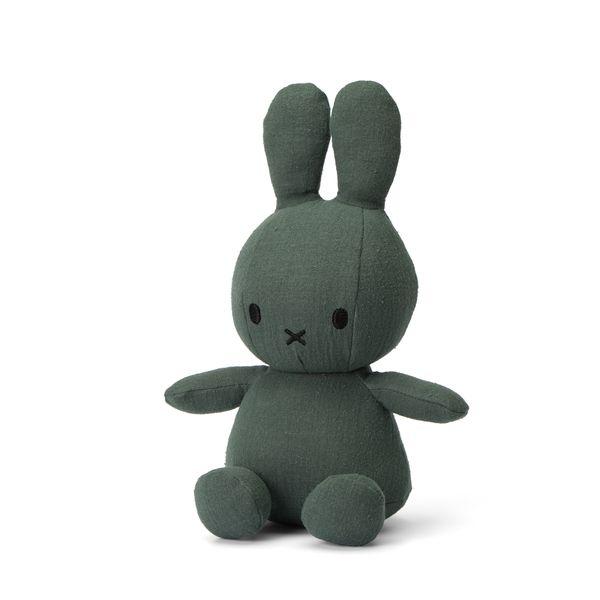 Lapin en mousseline vert 23 cm - Miffy