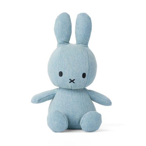Lapin en mousseline denim clair 23 cm - Miffy