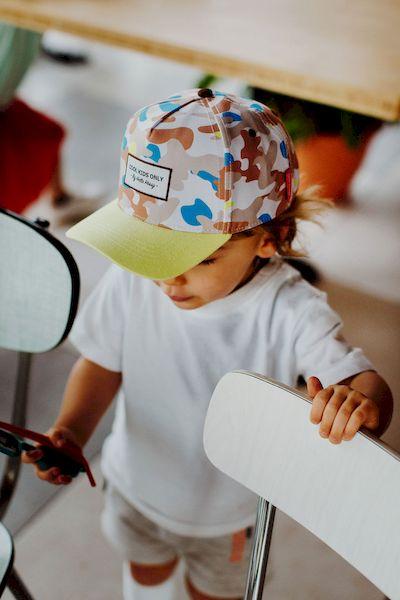 Casquette enfant Camouflage Hello Hossy casquette garçon enfant tendance