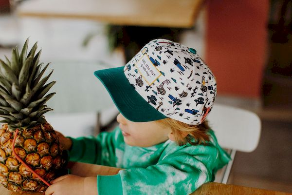 Casquette Mini Jungle Hello Hossy casquette tendance enfant animaux