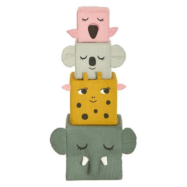Cubes à empiler - Jungle Life - Roommate