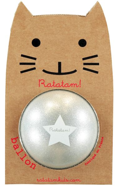 Ballon Argent 15 cm - Ratatam!