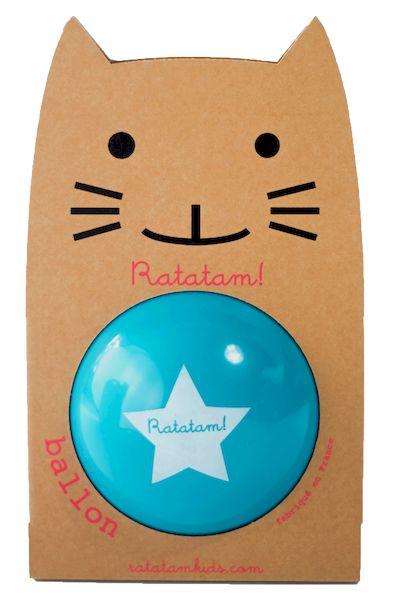Ballon Bleu 22 cm - Ratatam!