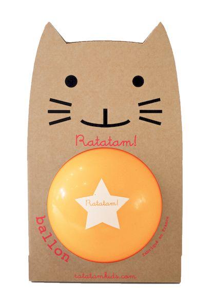 Ballon Orange 22 cm - Ratatam!