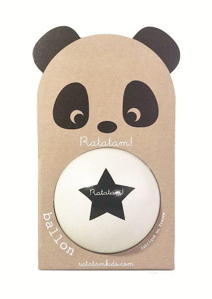 Ballon Panda Blanc 12 cm - Ratatam!