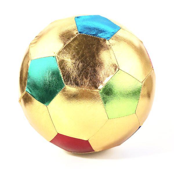 Ballon de Foot Or - 22 cm - Ratatam!