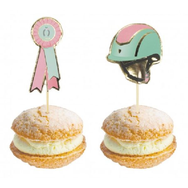 Cake toppers Cheval d'Amour x10