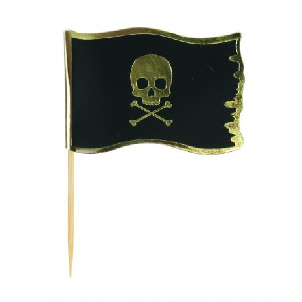 Cake toppers Pirate x10