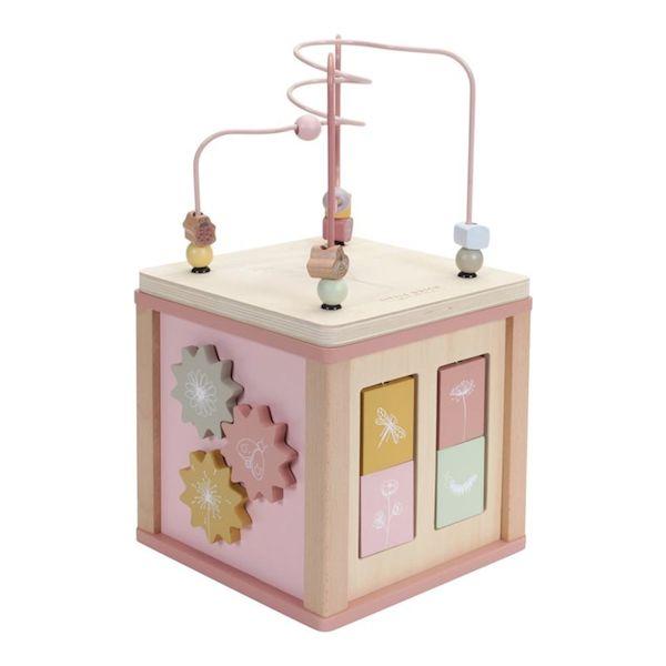 Cube d'activités Flowers - Little Dutch