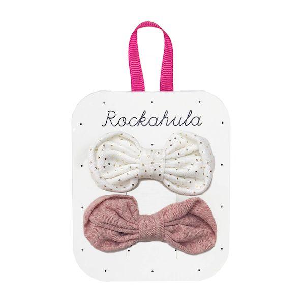 2 Barrettes noeuds Sweet Dreams Rockahula Kids accessoire fille