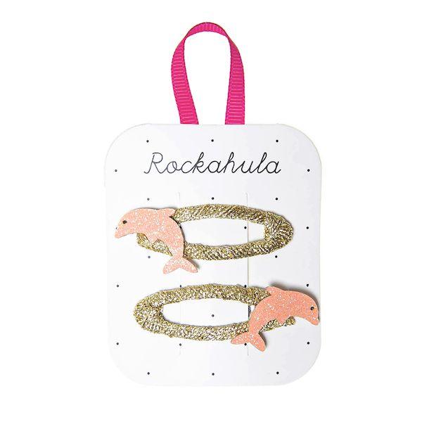 Barrettes Dolly le dauphin x2 Rockahula Kids accessoire fille
