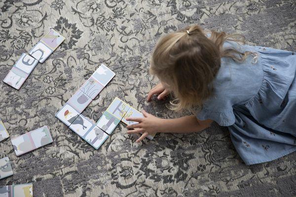 Puzzle dominos Zoo - Little Dutch