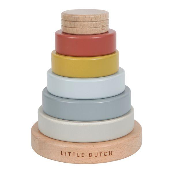 Tour d'anneaux à empiler - Little Dutch