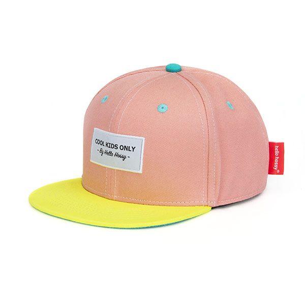 Casquette enfant pink - Hello Hossy casquette bébé garçon tendance