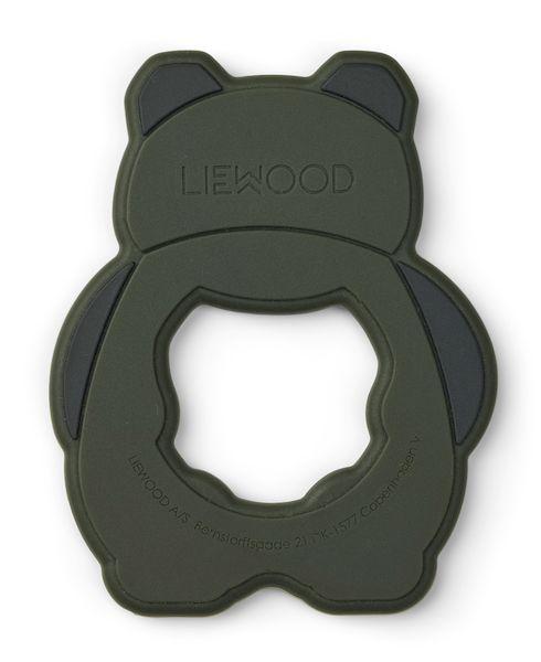 Anneau de dentition Gerda Panda vert kaki - Liewood