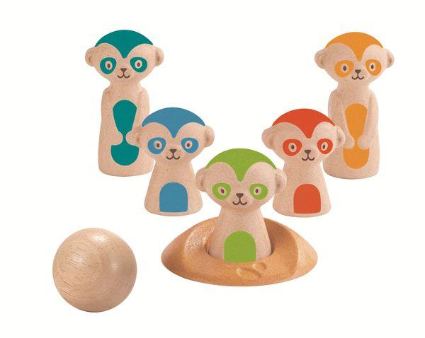 Bowling des animaux - Plan Toys