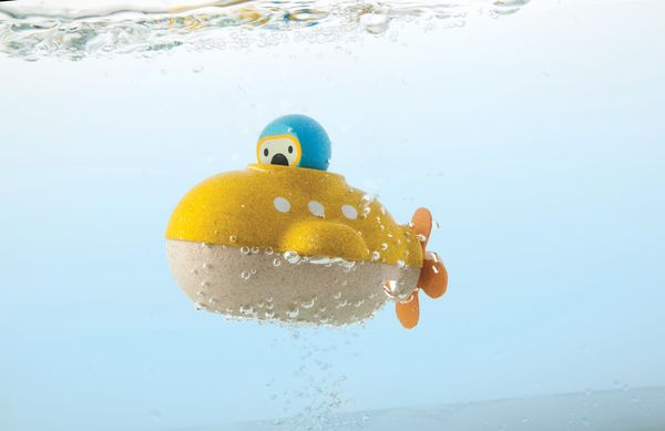 Mon sous-marin en bois - Plan Toys