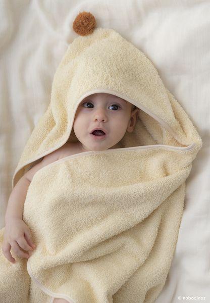 Cape de bain So cute - Vanilla - Nobodinoz