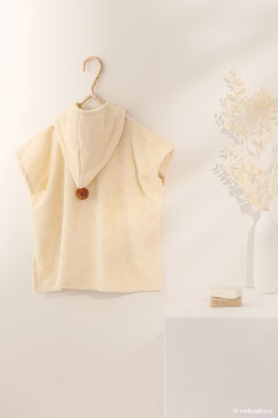 Poncho So cute - Vanilla - 3/5 ans - Nobodinoz