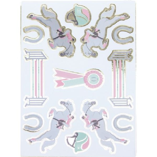 Stickers Cheval d'amour x25