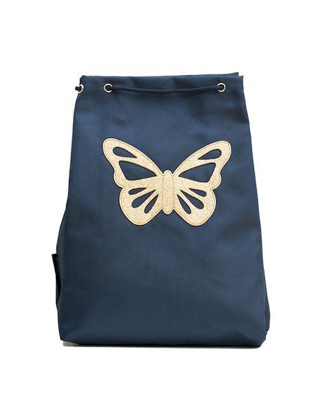Sac de gym Papillon bleu - Caramel & cie