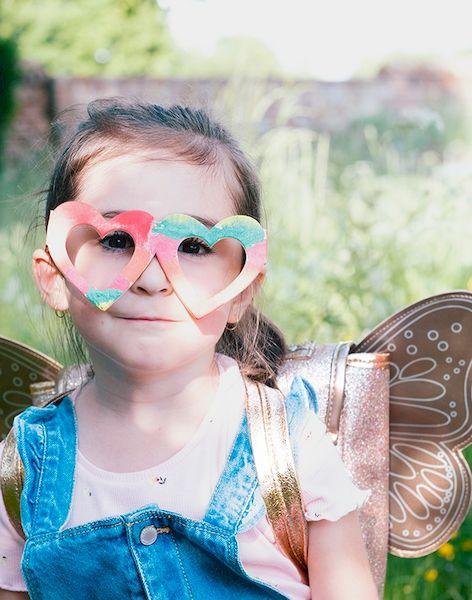 Sac papillon paillettes cuivre - Caramel & cie
