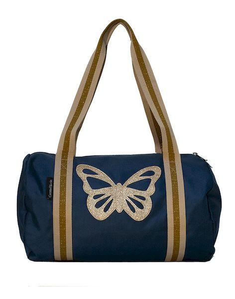 Sac Week-end Papillon bleu - Caramel & cie