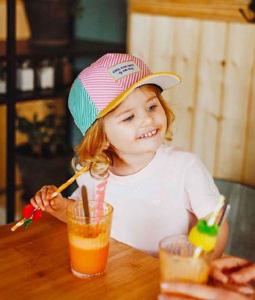Casquette enfant Stripes - +6ans - Hello Hossy