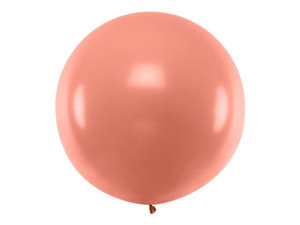 Ballon géant Rose Gold métallique - 1 M