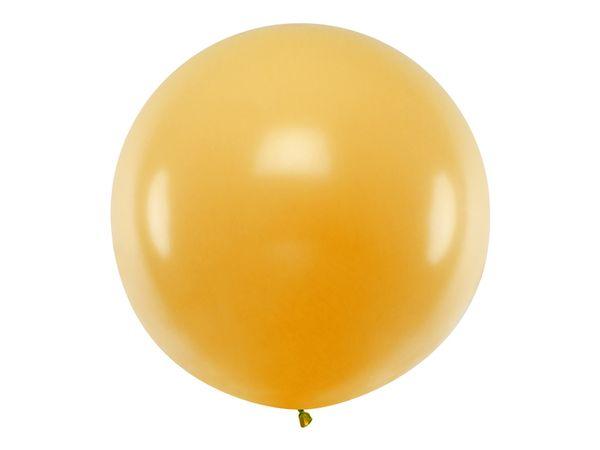 Ballon géant Doré métallique - 1 M