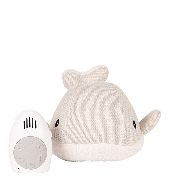 Peluche musicale Moby gris Flow