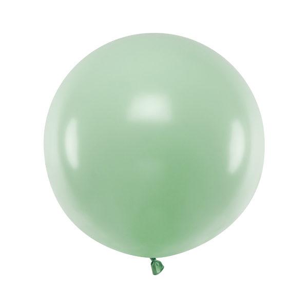 Ballon géant Pistache pastel - 1 M