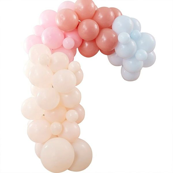 Kit pour guirlande de ballons Rainbow - Ginger Ray