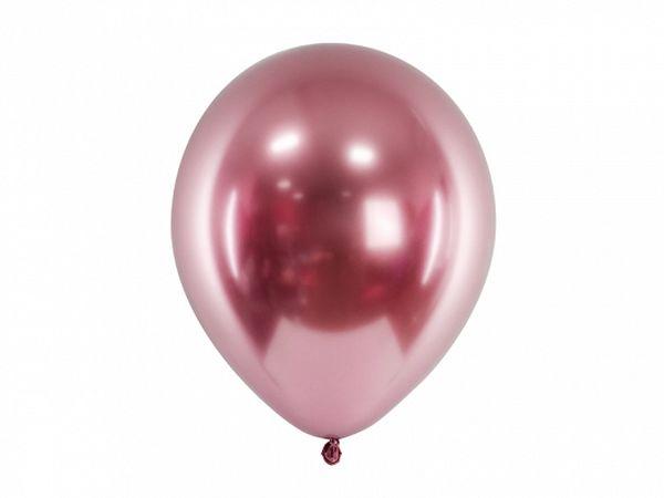 Ballon Rose gold brillant 30 cm