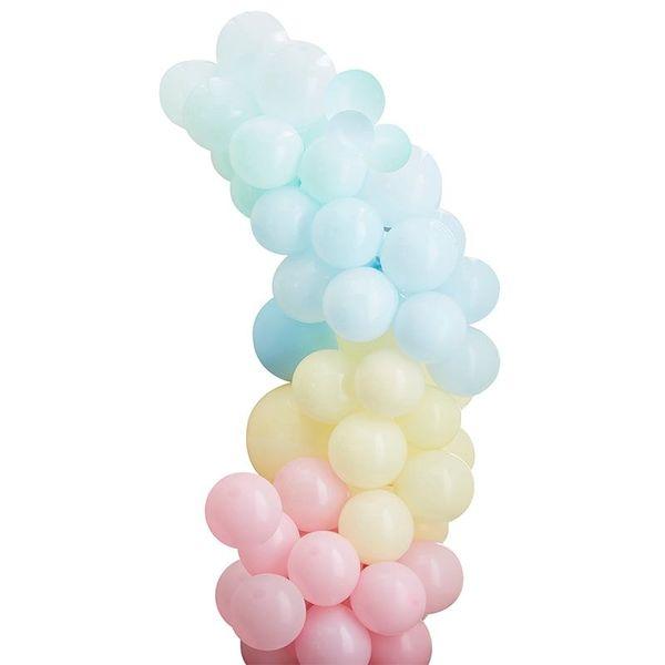 Kit pour guirlande de ballons multicolore Pastel - Ginger Ray
