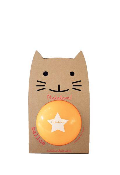 Ballon Orange 15 cm - Ratatam!