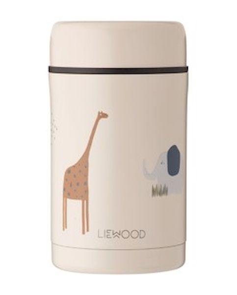 Boite repas isotherme Bernard Safari Sandy - Liewood
