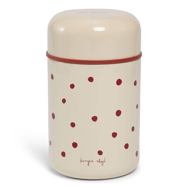 Boite repas isotherme Raspberry/red dot - Konges Slojd