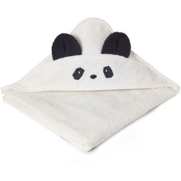 Cape de bain Albert Panda creme de la creme - Liewood