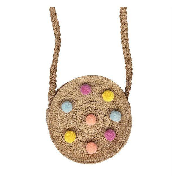 Petit sac bandoulière pompons multicolores - Rockahula Kids