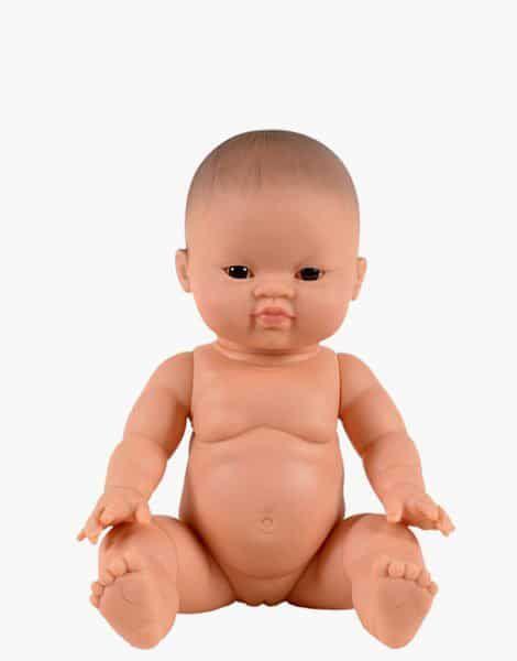 Petite Fille d'Asie aux Yeux Foncés - Minikane