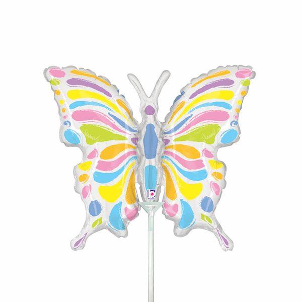 Ballon Papillon Pastel 84 cm Grabo accessoire fête déco anniversaire