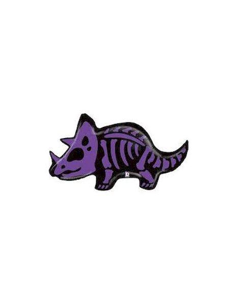 Ballon Triceratops 104 cm Grabo déco fête anniveraire
